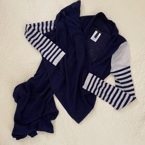 BCBG Silk Cashmere Convertible Cardigan